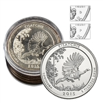 2015 Kisatchie National Forest - Collectors Roll - Philadelphia (5) and Denver (5)