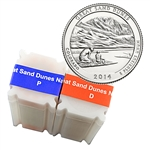 2014 Colorado Great Sand Dunes National Park Quarter - Philadelphia and Denver - Uncirculated Roll Pair