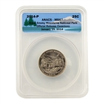 2014 Tennessee Great Smoky Mountains Quarter - Release Ceremony - MS67