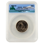 2014 Utah Arches National Park Quarter - Release Ceremony - MS67