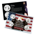 Ohio Series 1 & 2 - 4pc Quarter Set- UNC