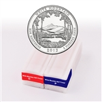 2013 New Hampshire White Mountain Quarter - Philadelphia and Denver - Unc Roll Pair