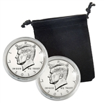 2013 Kennedy Half Dollar - Philadelphia and Denver - Uncirculated in Capsules