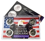 New Mexico Series 1 & 2 - 4pc Quarter Set- Platinum