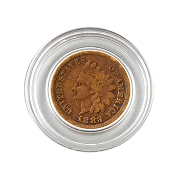 1883 Indian Head Cent - Circulated - Capsule