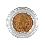 1889 Indian Head Cent - Circulated - Capsule