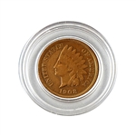 1908 Indian Head Cent - Circulated - Capsule