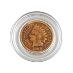 1909 Indian Head Cent - Circulated - Capsule
