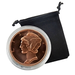 Mercury Dime - 1oz Copper Medallion - Proof Like