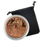 Standing Liberty Quarter - 1oz Copper Medallion - Proof Like