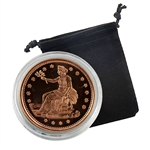 Trade Dollar - 1oz Copper Medallion - Proof Like