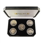 2001 Big Cats of the World Series Coin Set