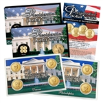 2015 Presidential Dollar Set - Philadelphia & Denver Mint - Lens