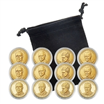 2015 Presidential Dollar Set - Philadelphia, Denver & San Francisco - Capsules