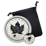 2016 Canadian Maple Leaf with Wolf Privy