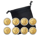2015 Presidential Dollar Set - Philadelphia and Denver - Capsules