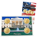 2015 Presidential Dollar Set - Philadelphia Mint - Lens