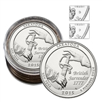 2015 New York Saratoga National Historical Park - Roll of 10 (5 P/ 5 D)