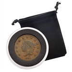 1831 Large Cent - Cornet Head - Circulated