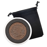 1840 Large Cent - Braided Hair - Circulated