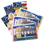 2016 Richard M. Nixon Presidential Dollar - Precious Metals P&D Lens Set