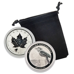 2016 World Silver Pair Uncirculated (Kookaburra & Maple Leaf)