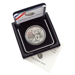 2016 Mark Twain Silver Dollar - Uncirculated - OGP