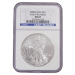 2008 Silver Eagles - NGC 69