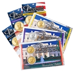 2016 Gerald R. Ford Presidential Dollar - Precious Metals P&D Lens Set