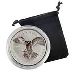 2016 Canadian 1oz Silver Peregrine Falcon - Reverse Proof