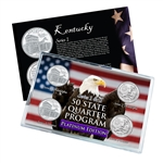 Kentucky Series 1 & 2 - Four Piece Quarter Set - Platinum