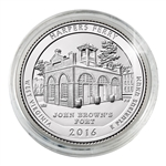 2016 Harpers Ferry Nat'l Historical Park - Denver - Uncirculated in Capsule