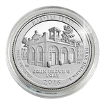 2016 Harpers Ferry Nat'l Historical Park - Philadelphia - Platinum Plated in Capsule