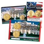2016 Ronald Reagan Presidential Dollar - Up Side Down Variety 2pc Set