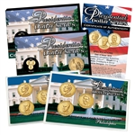 2016 Presidential Dollar Set - Philadelphia & Denver Mint - Lens