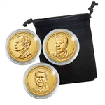 2016 Presidential Dollar Set - Philadelphia Mint - Capsules