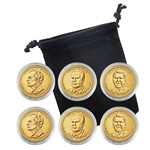 2016 Presidential Dollar Set - Philadelphia and Denver - Capsules