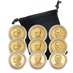 2016 Presidential Dollar Set - Philadelphia, Denver & San Francisco - Capsules