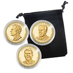 2016 Presidential Dollar Set - San Francisco Mint - Capsules