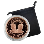 Gemini - Zodiac 1 oz Copper Proof - May 22 to June 21
