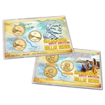 2011 Native American  Dollar 3 pc Lens Set - PDS