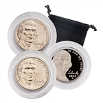 2015 Jefferson Nickel - Philadelphia, Denver & San Francisco 3pc Set
