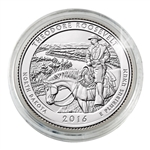 2016 Theodore Roosevelt National Park - Denver - Uncirculated in Capsule
