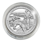 2016 Theodore Roosevelt National Park - Denver - Platinum Plated in Capsule