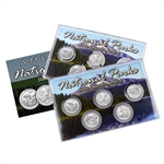 2016 National Parks Quarter Mania Set - Philadelphia & Denver - Uncirculated