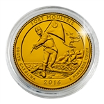 2016 Fort Moultrie - Philadelphia - Gold Plated in Capsule