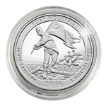 2016 Fort Moultrie - Denver - Platinum Plated in Capsule