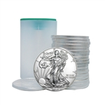 2017 American Silver Eagle - Uncirculated - Roll of 20