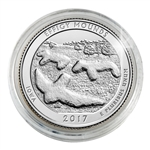 2017 Effigy Mounds National Monument - Philadelphia - Uncirculated in Capsule