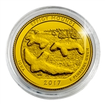 2017 Effigy Mounds National Monument - Denver - Gold Plated in Capsule